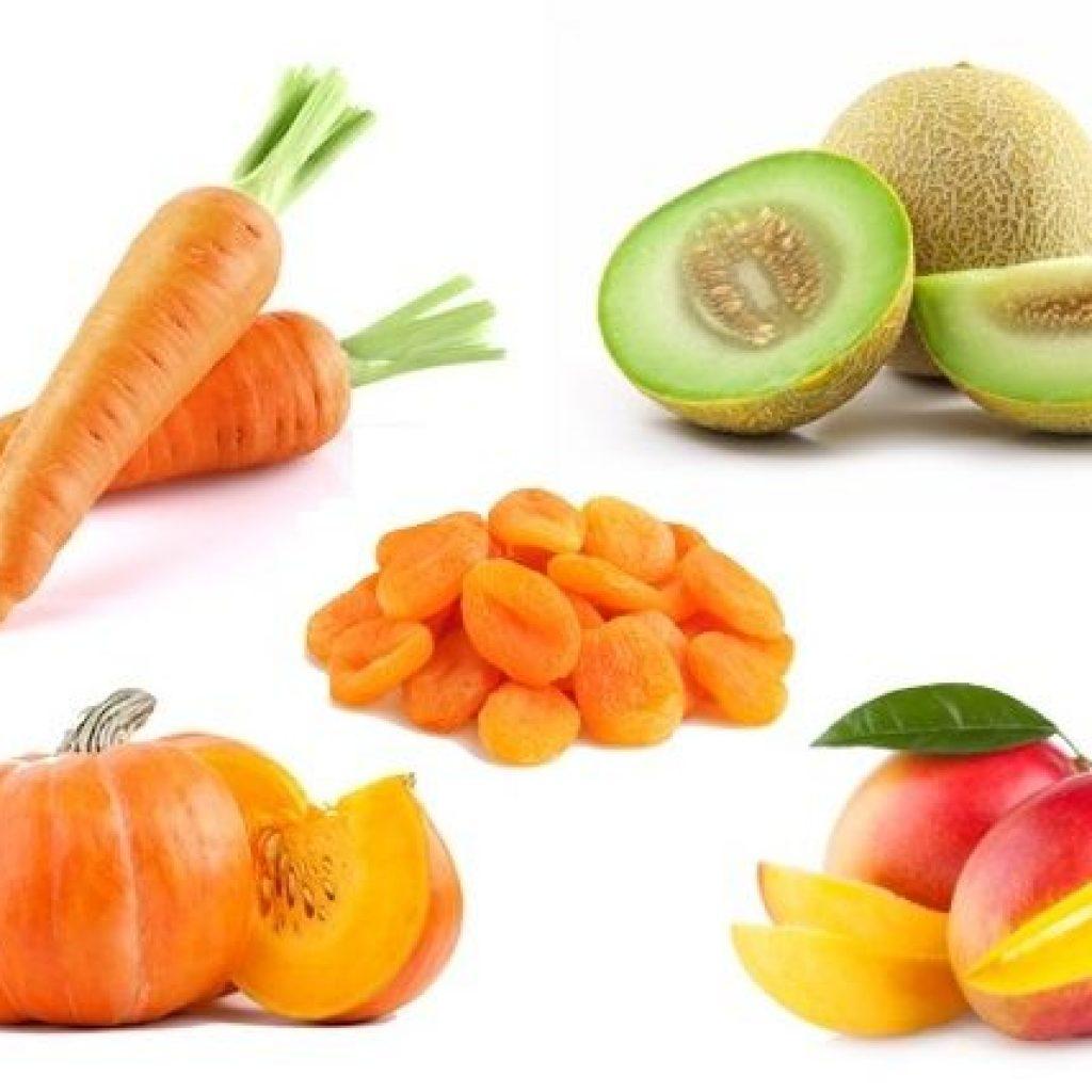 alimentos com betacaroteno