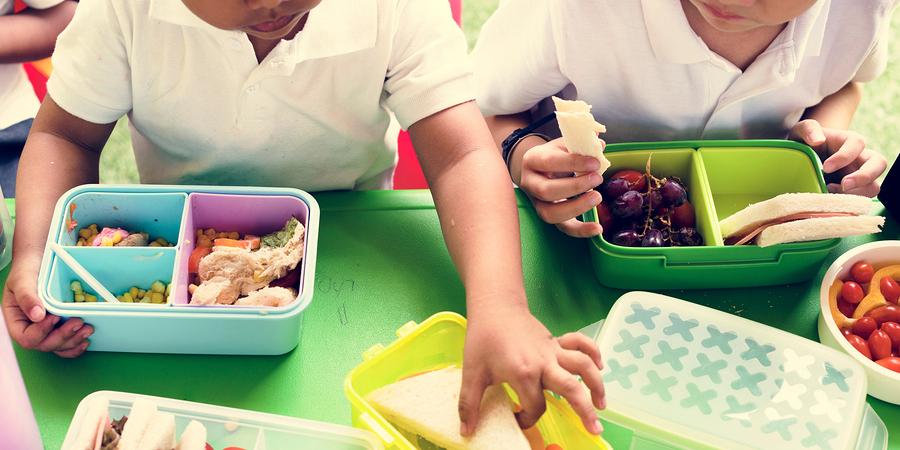 Cardápio nutricional para reeducação alimentar infantil